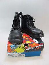 SKECHERS Boys Welder Galvin Black Boots US 10.5; EU 27 (0019883)