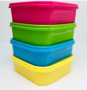 Tupperware Modular Mates Square I 1.2L Airtight Container X1 Choose Colour