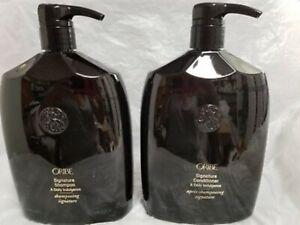 Oribe Signature Shampoo 33.8oz & Conditioner 33.8oz SET With PUMPS