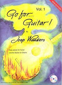 Go for Guitar Vol. 1 (+ CD) Joep Wanders
