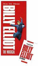 "Elton John ""BILLY ELLIOT"" Victoria Palace Theatre 2014 London Flyer and Minicard"