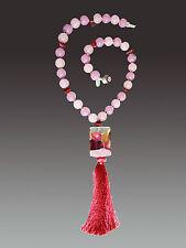 Harlequin Silk Tassel Necklace Sale! Bess Heitner Venetian Wine
