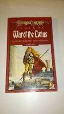 War of the Twins (Anglais) - Margaret Weis & Tracy Hickman