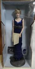 "Franklin Mint Princess Diana ""PRINCESS OF STYLE"" Porcelain Doll W/COA New in Box"