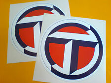 TALBOT T Logo Classic Race Rally Motorsport Adesivi Decalcomanie 2 OFF 150mm