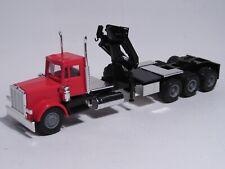 Herpa Promotex HO Peterbilt Triple-Drive Tractor & Hiab Crane 6373 [4 photos]