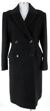 Caractère Wollmantel 40 (D) schwarz 100% Wolle coat cappotto manteau top!