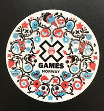 X Games Sticker - Norway Skiing Ski Snowboard Mountain Sports