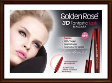 Golden Rose Perfect Lashes 3D Fantastic Lash Mascara 100% Volume extreme BLACK