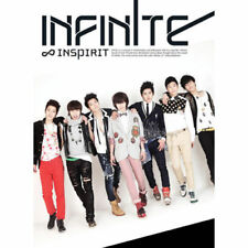 INFINITE [INSPIRIT] 1st Single Album CD+Photobook(Booklet) K-POP SEALED