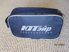 2013 Russian Airline darkblue UTair Business Class Amenity Bag original contents