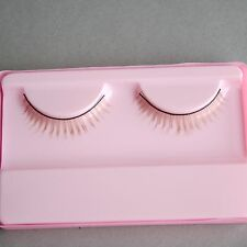 [wamami] 1 Pair of Handmade Brown Eyelashes SD DZ DOD MSD Luts BJD Doll Dollfie