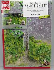 Busch 1267 Bausatz Waldteich Set H0 Scale 1 87 NEU OVP
