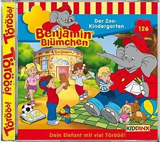 Benjamin Blümchen - Folge 126: Der Zoo-Kindergarten (CD | Hörspiel)