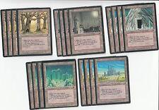 20 Sacrifice Land - Fallen Empires  - Played - 4x of each - Sets - Magic MTG FTG
