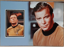 STAR TREK personally signed picture mounted & matted - WILLIAM SHATNER