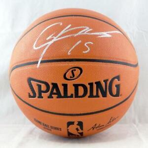 Clint Capela Autographed Official NBA Basketball - Tristar Auth *Silver