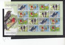 More details for seychelles mnh stamp sheet 2008 wwf endangered species full sheet sg 961-964