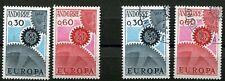 Andorra-franz 199 - 200 postfrisch und gestempelt, Europa