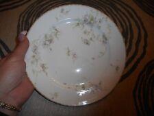 "Vintage 8.5""  Plate CH Field Haviland Limoges GDA Purple Flowers"