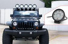 LED Off Roadling Fog Lights For all CAR's (27W, 9LED's, 3W Pure White Each).....