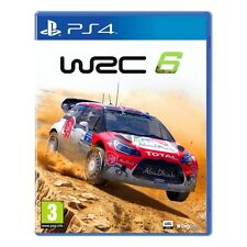 PS4 game WRC 6 - World Rally Championship 2016 NEW