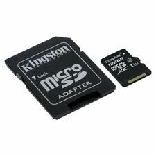 Kingston Micro-SD Card 128GB SDHC UHS-I C10 mit Adapter SDC10G2/128GB