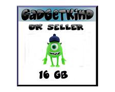 16GB Mike Wazowski Monster Inc Novelty USB Pen Drive Flash Memory Stick Gift UK