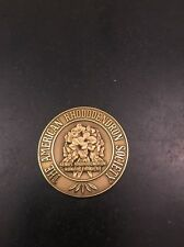 "The American Rhododendron Society Coin Medal Inscription 1.5"" Brass"