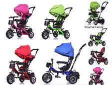 Premium Quality 4 in1 Kids Children Trike Tricycle 3 Wheel Ride Bike