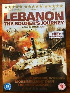 Lebanon DVD 2009 True Life Israeli Invasion of lebanon War Movie w/ Slipcover