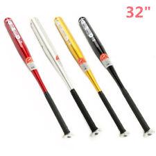Aluminum Metal Baseball Bat Racket Softball Outdoor Sport 32Inch Youth Gift