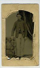 Civl War - Tintype- Union Soldier