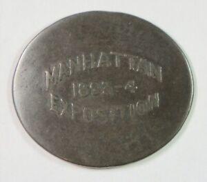 1893-1894 Manhattan Exposition – Elongated US Large Cent