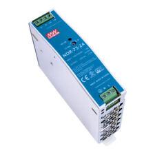MeanWell 24V NDR-75-24 Netzteil 76,8W 3,2A Hutschienennetzteil slim 32mm DINRail