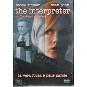 The Interpreter DVD Nicole Kidman Sean Penn / Eagle pictures Slipcase Sigillato