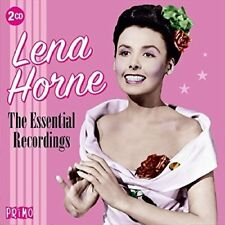 LENA HORNE - ESSENTIAL RECORDINGS  2 CD NEW!