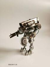 Handmade Steampunk Battle Robot Model Figure Toy Doll Home Decor
