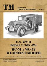 TANKOGRAD 6031 U.S. WWII DODGE 3/4 TON 4X4 WC-51 & WC52 WEAPONS CARRIER