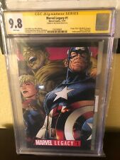 Marvel Legacy #1 CGC 9.8 - SIGNED BY JIM CHEUNG 11/17
