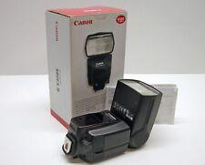 CANON 580EX II DEDICATED FLASH UNIT..MINTY..BOX..CASE..STAND..BOOK..GRAB IT!