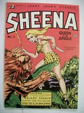 Blackthorne JERRY IGER'S CLASSIC SHEENA QUEEN OF THE JUNGLE SC (1985) Reprint