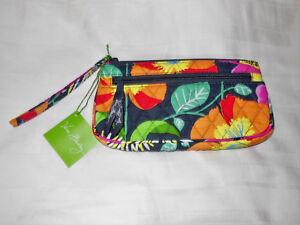 NWT Vera Bradley WRISTLET in JAZZY BLOOMS clutch wallet purse 14558-138 $34