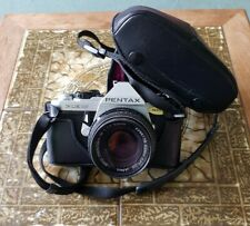 Pentax ME Super 35mm Film manual SLR Camera + Pentax M 50/1.7 smc Lens