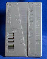 Coin Gauge Caliper Measures Thickness & Diameter Capsule Size Tool Free US Post
