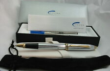 SALE! Cross Townsend Medalist Chrome+23k Rollerball Pen #505 USA NEW OLD STOCK