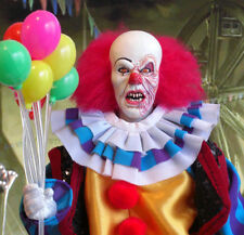 CUSTOM FIGURE PENNYWISE CLOWN 1/6  ACID STEPHEN KING IT DVD CD hot toys balloons