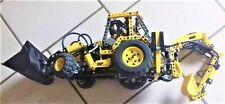 Lego 8455 Technic Technique pneumatique Excavateurs complet + guide