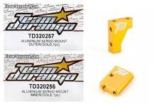 RC Team Durango TD320256 TD320257 DETC410 v2 Optional Servo Mount Inner & Outer