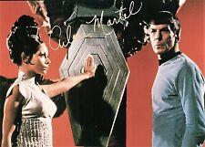 OFFICIAL WEBSITE Arlene Martel (1936-2014) T'Pring STAR TREK 8x10 AUTOGRAPHED